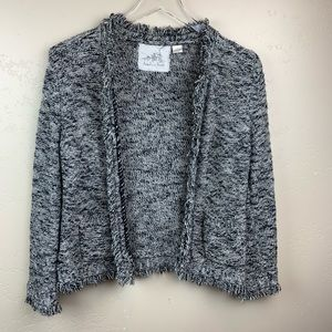 Anthropology Fringe Elliot Cardigan size L